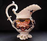 DERBY OLD  JAPAN IMARI OR KINGS PATTERN PORCELAIN CREAMER JUG C.1830-34